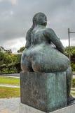 Portugal, Lissabon Fernando Botero-Skulptur Stockfotografie