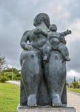 Portugal, Lissabon Fernando Botero-Skulptur Lizenzfreie Stockbilder