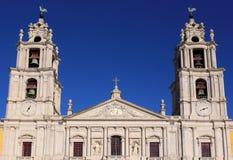 Portugal Lissabon, Mafra Den nationella slotten och Franciscankloster Arkivfoton