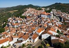 portugal liten stad Royaltyfria Bilder