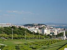Portugal Lizbońskiego miasta Obrazy Royalty Free