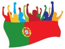 Portugal lockert Abbildung auf vektor abbildung