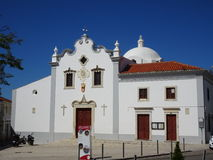 Portugal, Loulé, vista de la iglesia Imagen de archivo