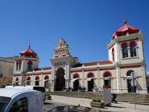 Portugal, Loulé, vista del edificio del mercado Foto de archivo