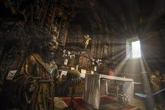PORTUGAL - MARIALVA-KERKaka Igreja DE Marialva royalty-vrije stock afbeeldingen