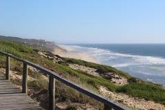 Portugal in Marinha Grande bezienswaardigheden dat wordt bezocht dat royalty-vrije stock fotografie