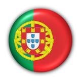 Portugal-Markierungsfahne Lizenzfreie Stockbilder