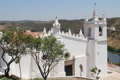 Portugal, Mertola, Igreja Matriz Imagen de archivo