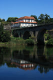 Portugal, Minho Region, Ponte da Barca, Roman bridge Stock Images