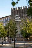 Portugal nació aquí imagenes de archivo