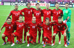 Portugal national football team Stock Photo