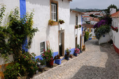 Portugal, Obidos Stock Images