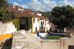 Free Portugal Obidos; A Medieval City Royalty Free Stock Photos - 5879178