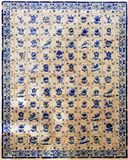 Portugal Obidos; decoration on a wall, azulejos Royalty Free Stock Image