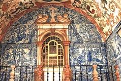 Portugal Obidos; eine mittelalterliche Stadt lizenzfreies stockbild