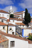 Portugal,  Obidos historical centre. Royalty Free Stock Images