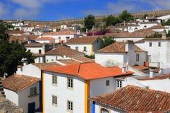Portugal,  Obidos historical centre. Stock Photo