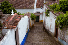 Portugal, Obidos Royalty Free Stock Photo