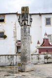 Portugal, Obidos. Old pillory. Royalty Free Stock Image