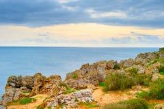Portugal ocean shore Royalty Free Stock Photo