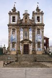 Portugal, oporto the ancient church of carmo Stock Photo