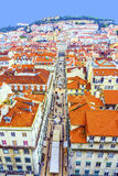 Portugal. Panorama of Lisbon from Royalty Free Stock Photo
