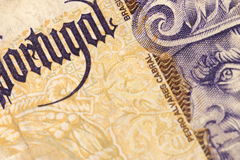 Portugal Paper Money Stock Photography