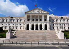 Portugal Parliament, Lisbon Royalty Free Stock Image