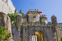 Portugal, Pena National Palace. Palacio Nacional da Pena, Sintra Stock Image