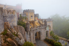 Portugal, Pena Palace, Sintra, royal residence of Prince Ferdina Royalty Free Stock Image