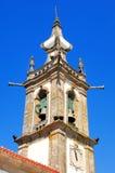 Portugal, Ponte de Lima: San Antonio church. Portugal, Ponte de Lima: blue sky and the San Antonio church royalty free stock photo