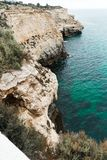 Portugal-portimao Küste lizenzfreies stockfoto