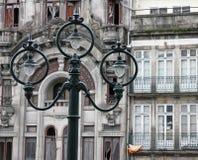 Portugal. Porto city. Ancient lantern royalty free stock photos