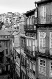 Portugal. Porto city in black and white Stock Photo