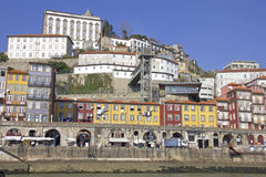 Portugal. Porto city. Old historical part of Porto Stock Images