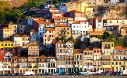 Portugal. Porto city. View of Douro river embankment Royalty Free Stock Photos