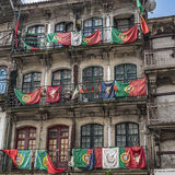 Portugal, Porto Der Sieg von FC Porto im nationalen champio Lizenzfreie Stockfotografie