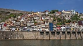 Portugal , Porto,the embankment of  Duora river Stock Photos