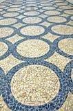 Portugal, Porto: Pedra de pavimentação típica fotografia de stock royalty free