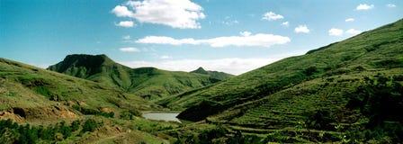 Portugal Porto Santo hills 1 Stock Image