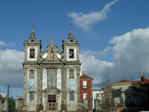 Portugal Porto Santo Ildefonso Church Royalty Free Stock Photo