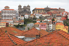 Portugal. Porto stad stock afbeelding