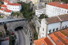 Portugal. Porto stad. Historisch deel van Porto royalty-vrije stock fotografie
