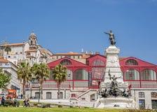 Portugal, Porto Statue von Prinzen Henry - Navigator Stockbild