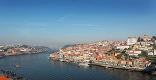 Portugal, Porto, view of the city and Douro`s river Royalty Free Stock Photo