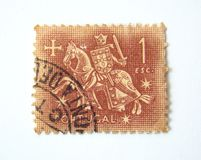 Portugal Postage Stamp Stock Images