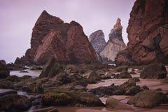 Portugal: Praia de Ursa Imagens de Stock