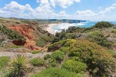 Portugal - Praia tun Amado Lizenzfreies Stockfoto