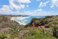 Portugal - Praia tun Amado Lizenzfreie Stockbilder