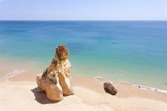 Portugal - Praia tun Vau Lizenzfreie Stockbilder